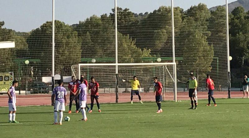 Tuteo del CD El Ejido al Valladolid que goleó a última hora