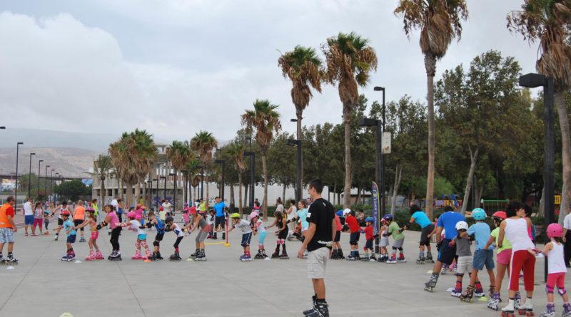 disfrutar del patinaje en Almería