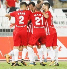 El Almería se aprovecha de un débil Sevilla Atlético y duerme en el co-liderato
