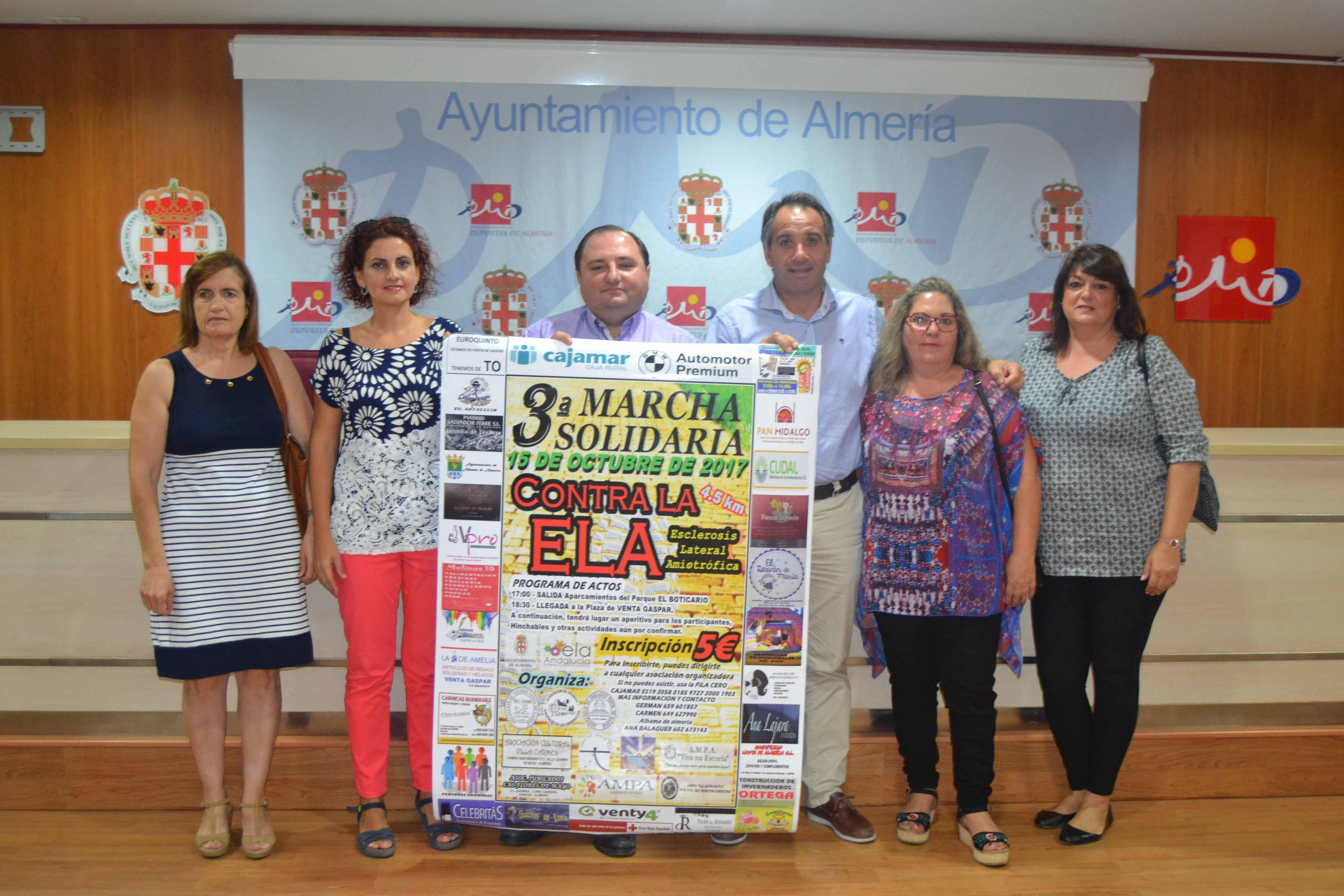 III Marcha Solidaria de Venta Gaspar