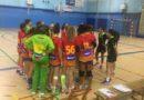 Marta Ontiveros, del Cajamar C.D. Urci Almería, con la Selección Española Promesas de balonmano