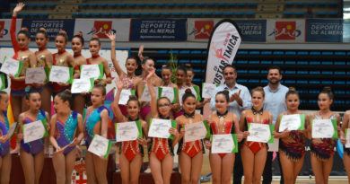 Más de 1.800 gimnastas en el Campeonato Andaluz de Promesas celebrado en Almería