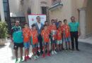 El alcalde de Almería recibe al Mintonette tras ganar el Campeonato de España