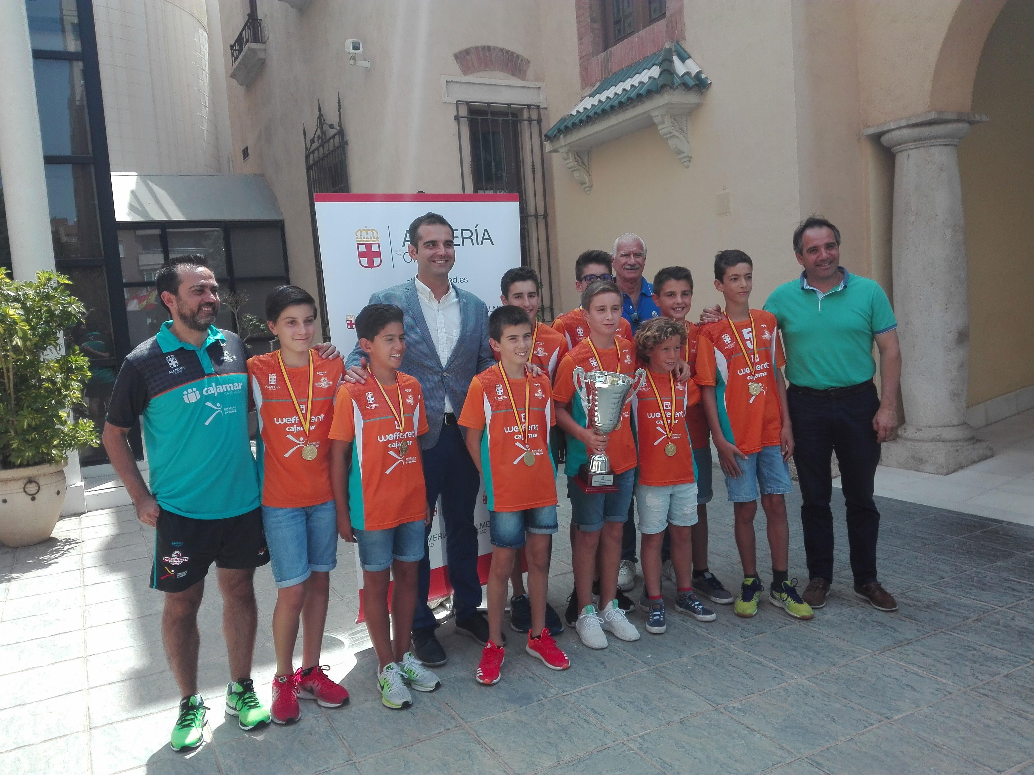 Ramon Fernandez-Pacheco recibe al Mintonette de voleibol