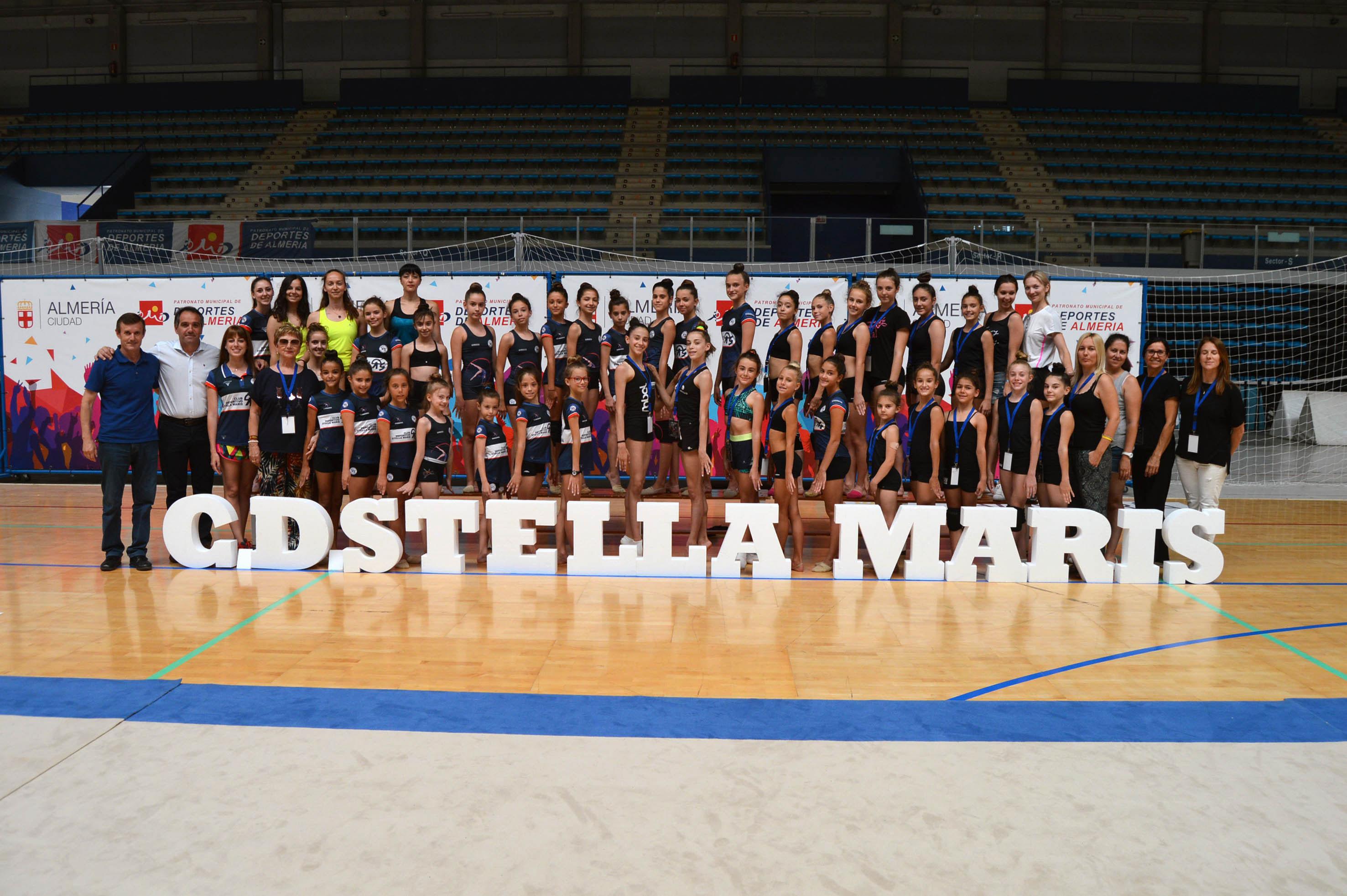 Clinic gimnasia ritmica Stella Maris