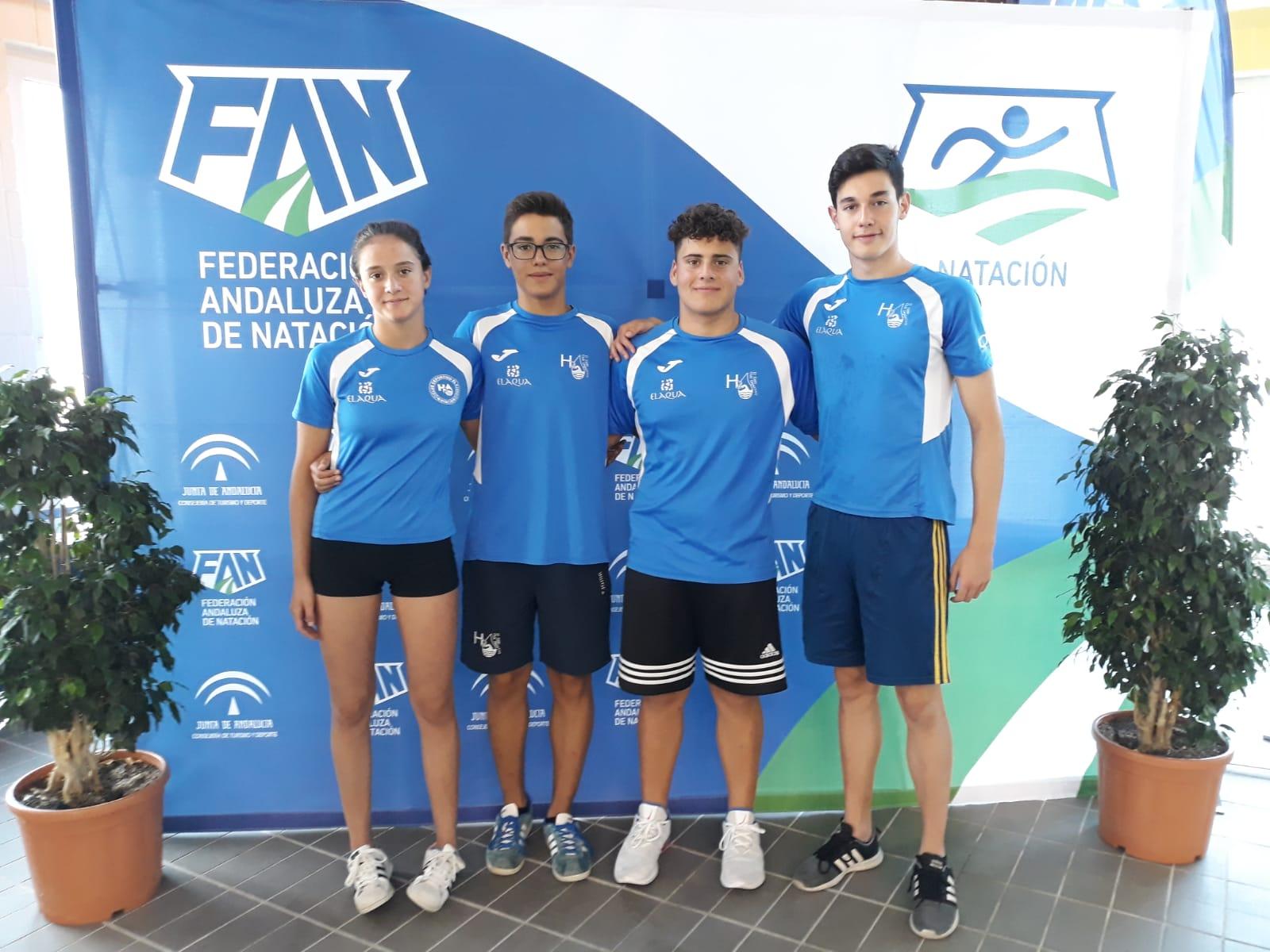 Club H2O en el XIII Campeonato de Andalucía infantil de natación