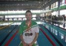 Tejada, un triunfador en natación adpatada con 16 medallas