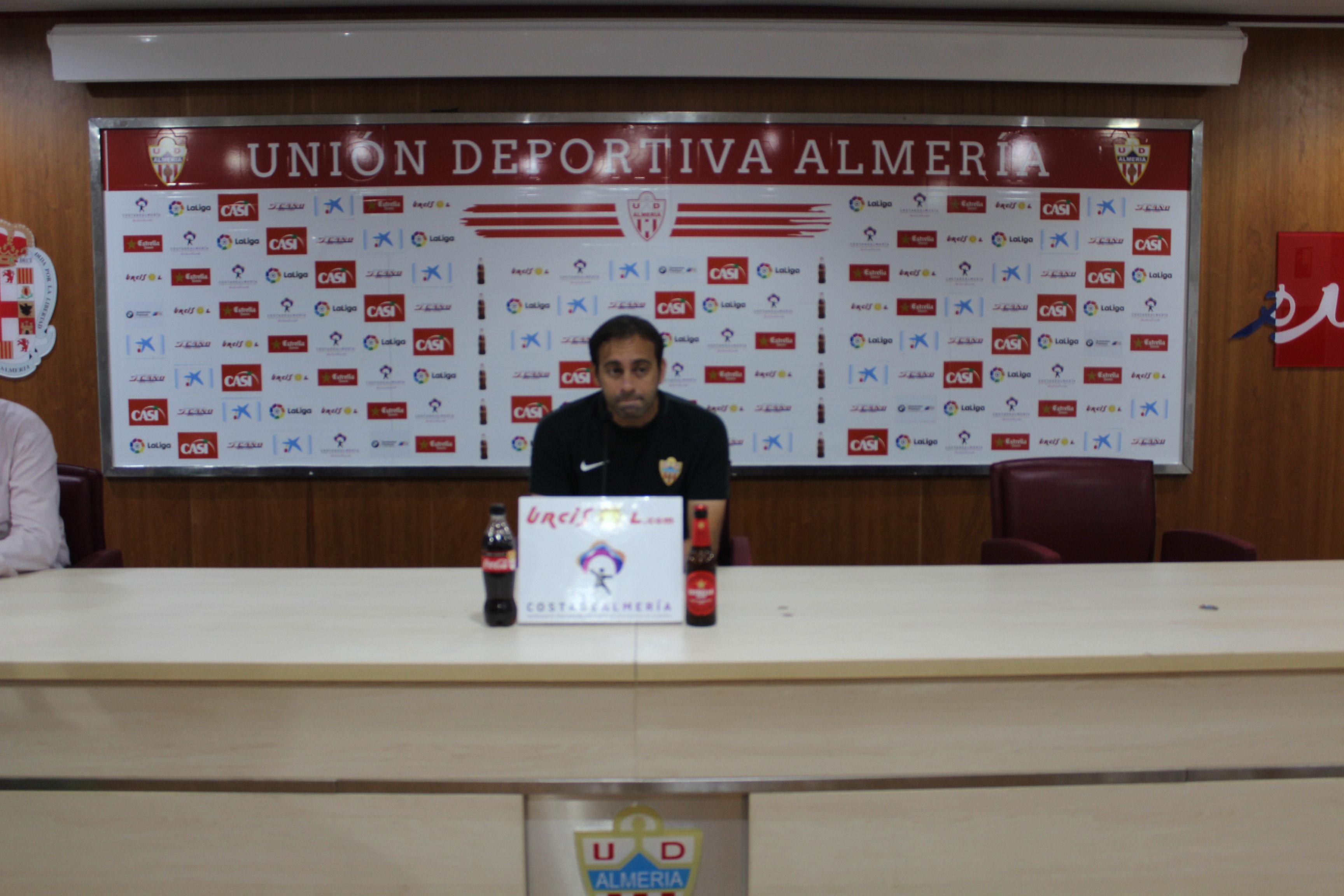 Rueda de prensa de UD Almeria