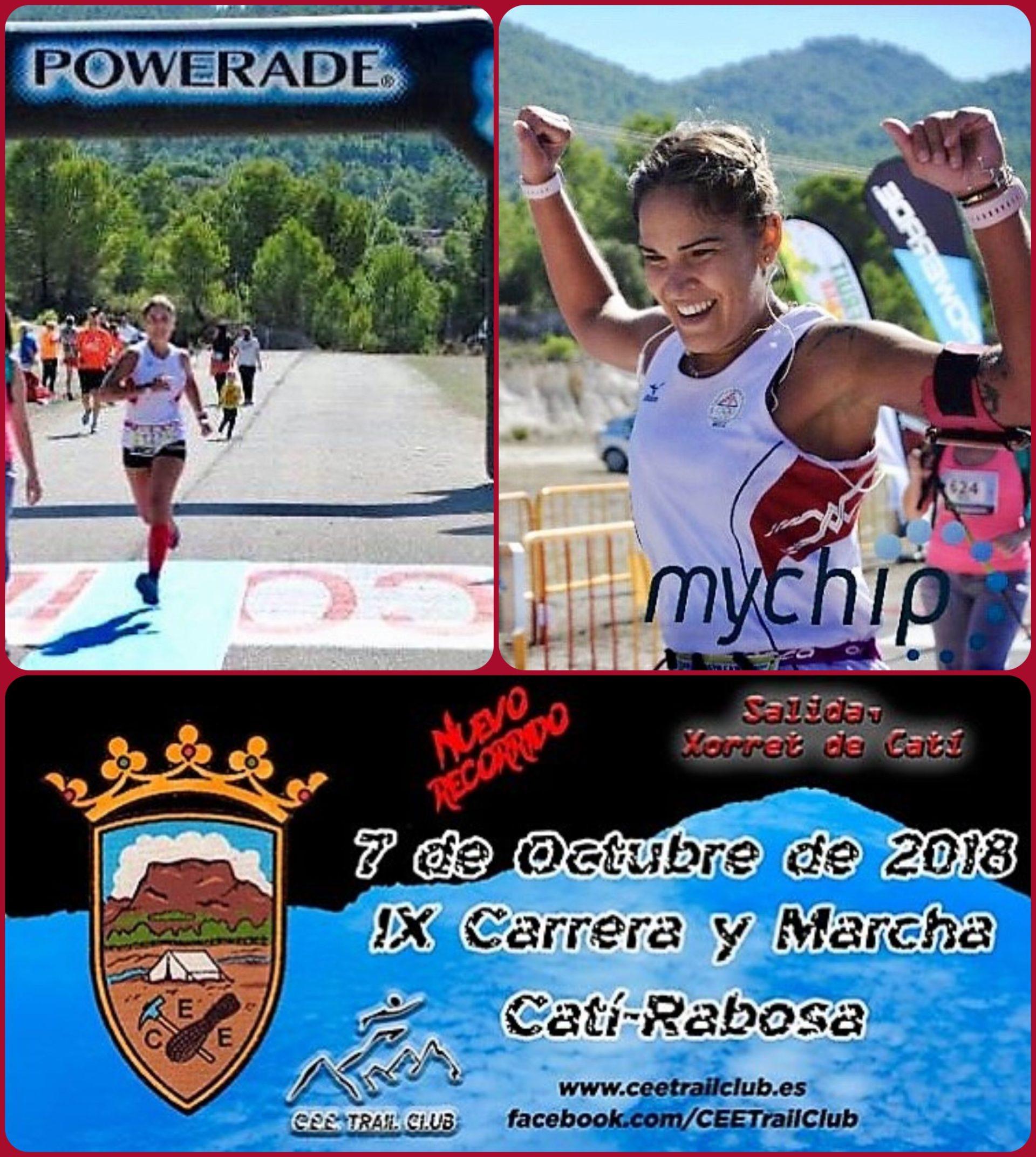 Atleta del Club Deportivo Atletas de Almeria