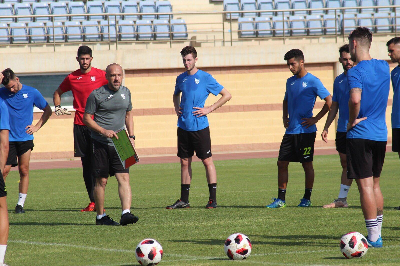 CD El Ejido entrenamiento 18-07-19