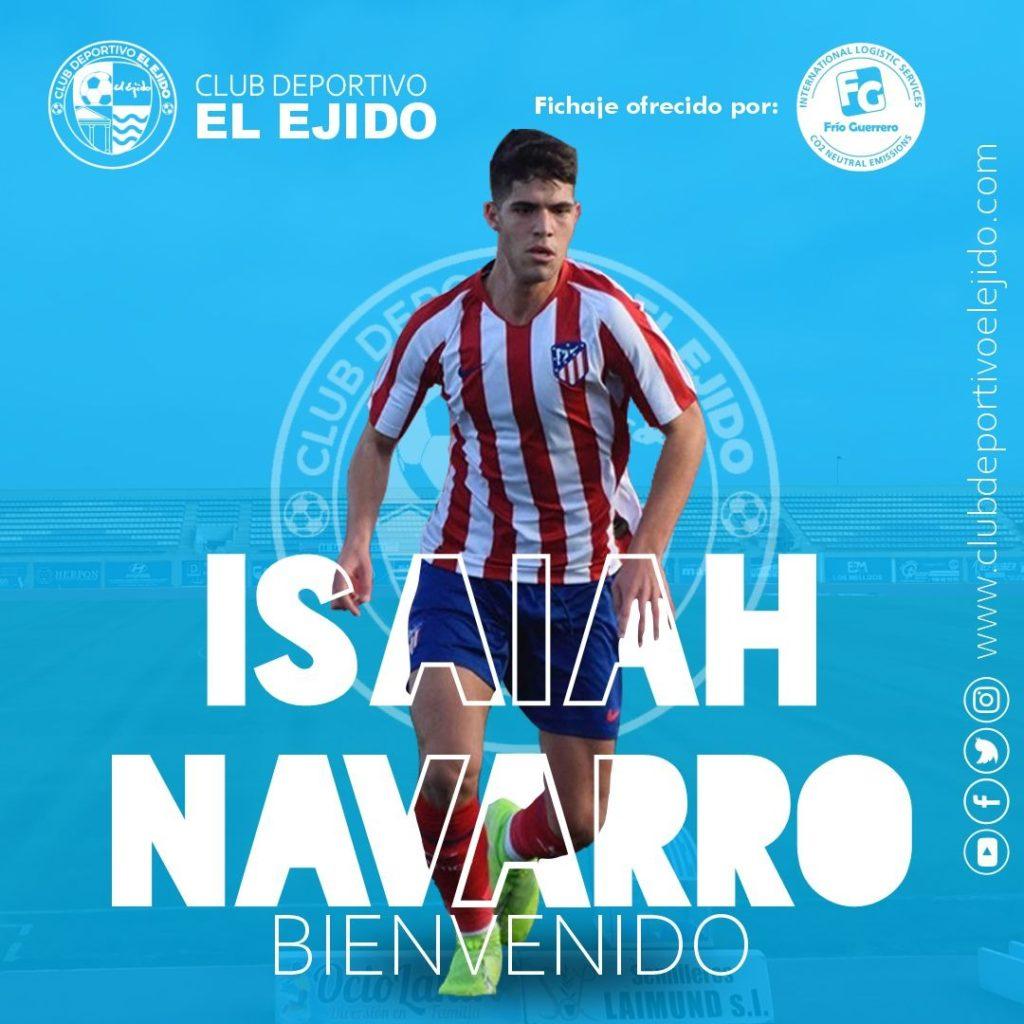 CD El Ejido 2012 fichaje Isaiah
