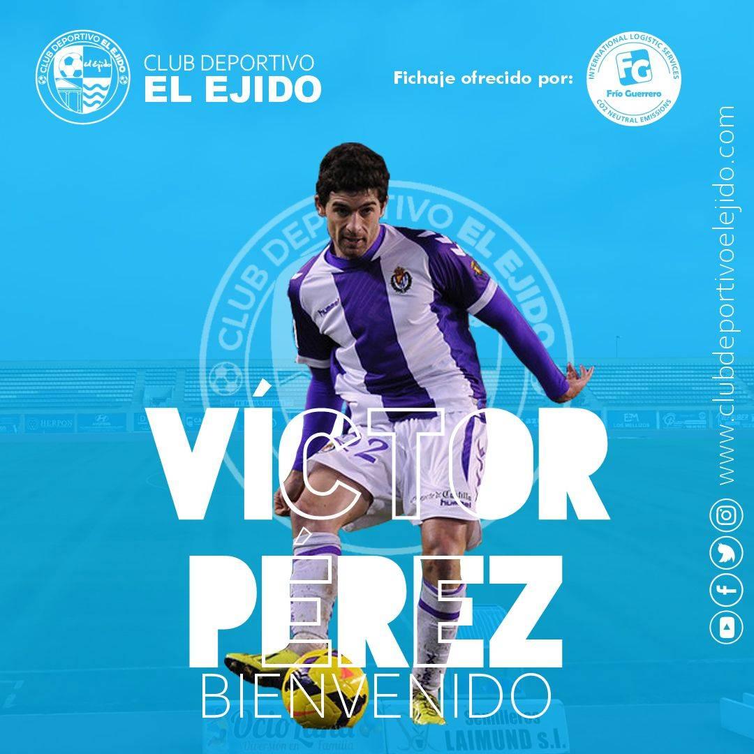 CD El Ejido 2012 fichaje Víctor Pérez
