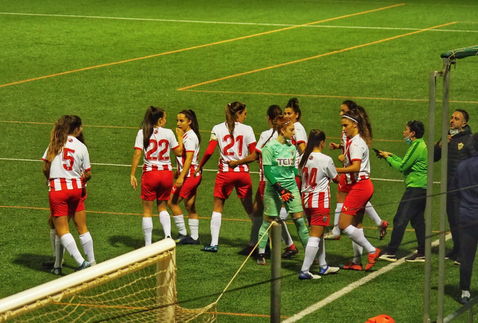 UDA femenina vs Málaga CF B