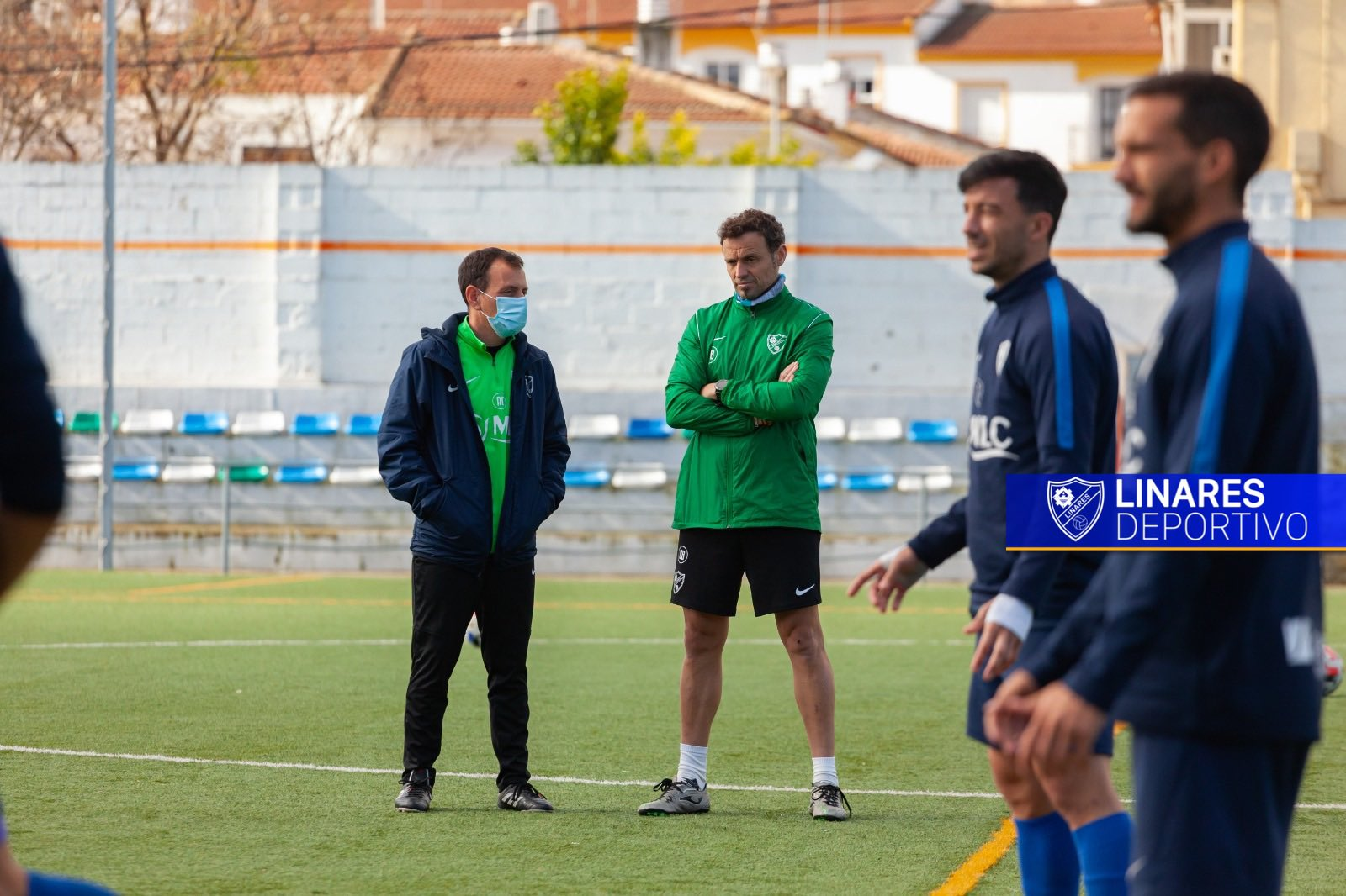 CD El Ejido 2012 Alberto González entrenador Linares Deportivo