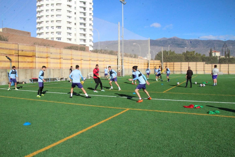 CD El Ejido 2012 entrenamiento 27-01-21 2