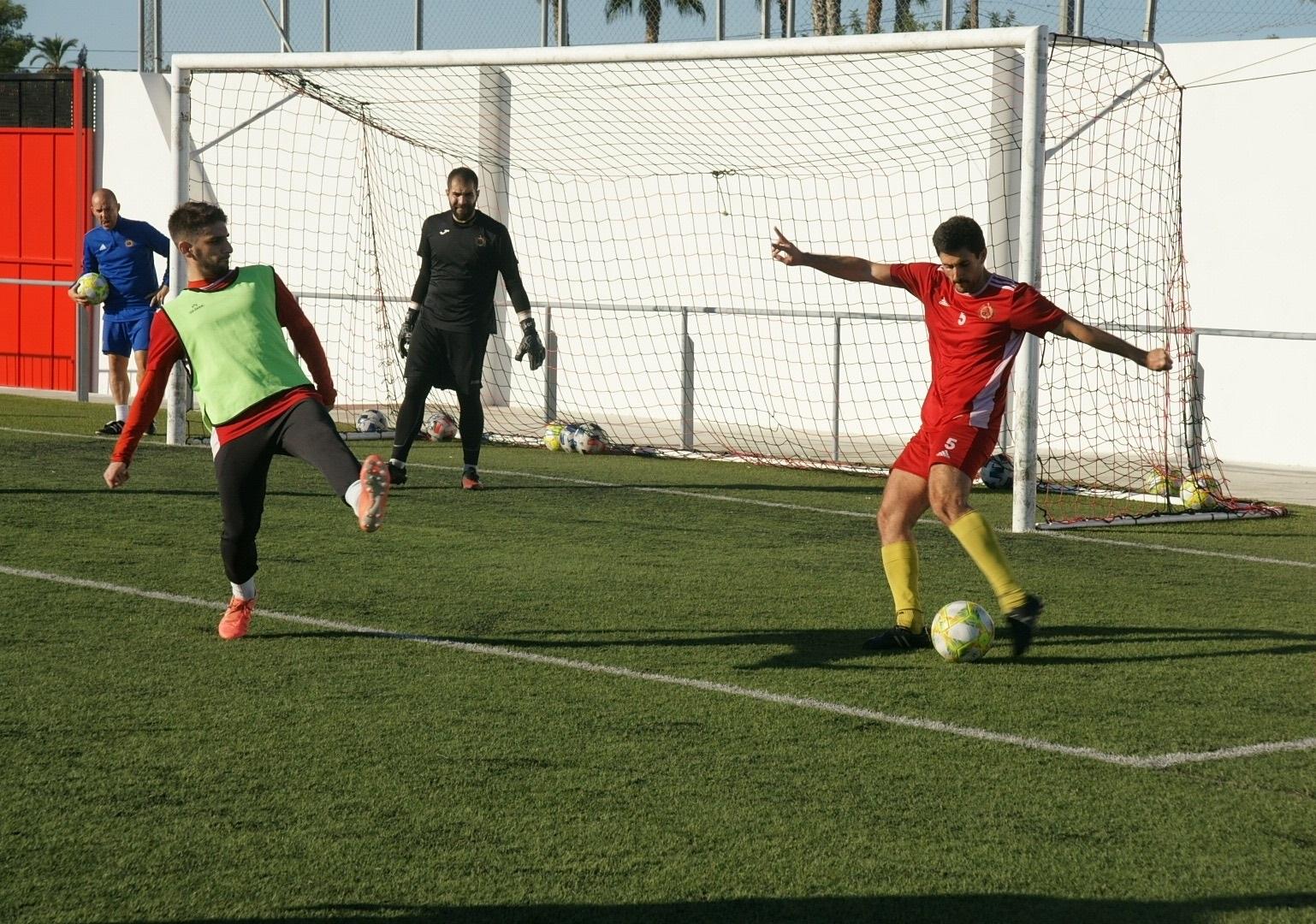 Huércal-Overa CF entrenamiento 24-10-20 1
