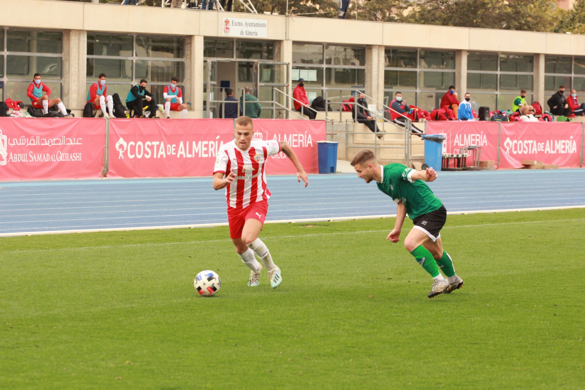 UD Almería B vs Poli Almería
