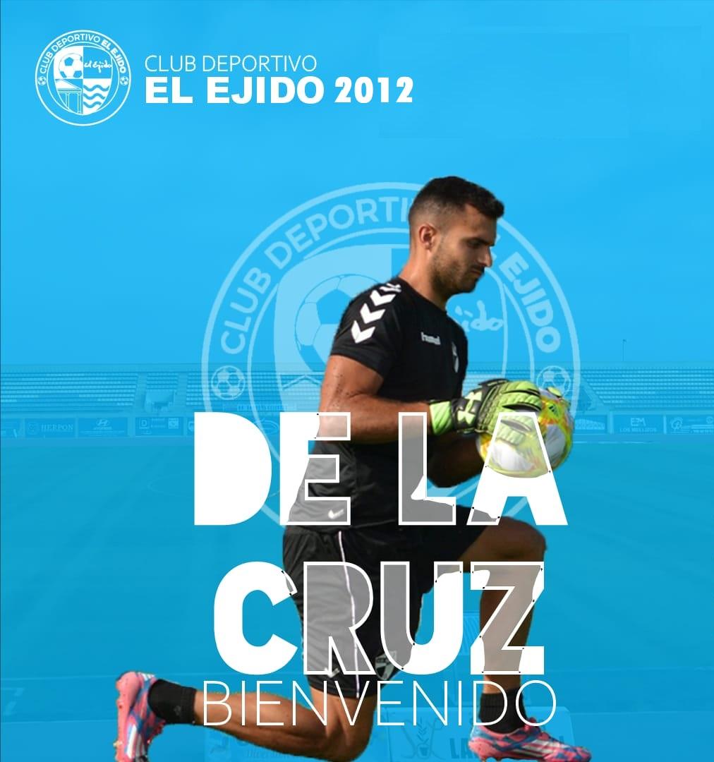CD El Ejido 2012 fichaje Salva de La Cruz