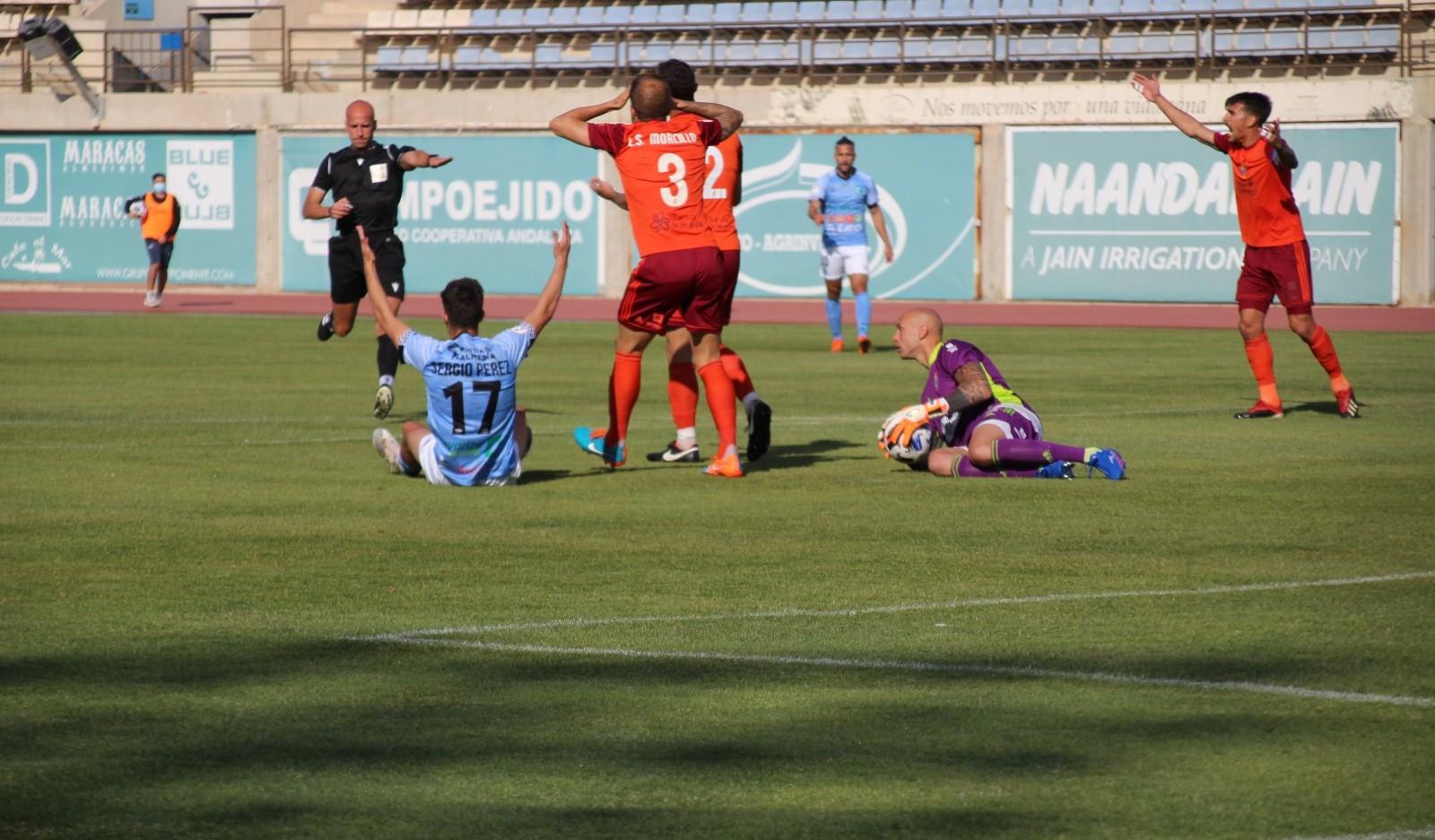 CD El Ejido 2012 vs Recreativo de Huelva 1