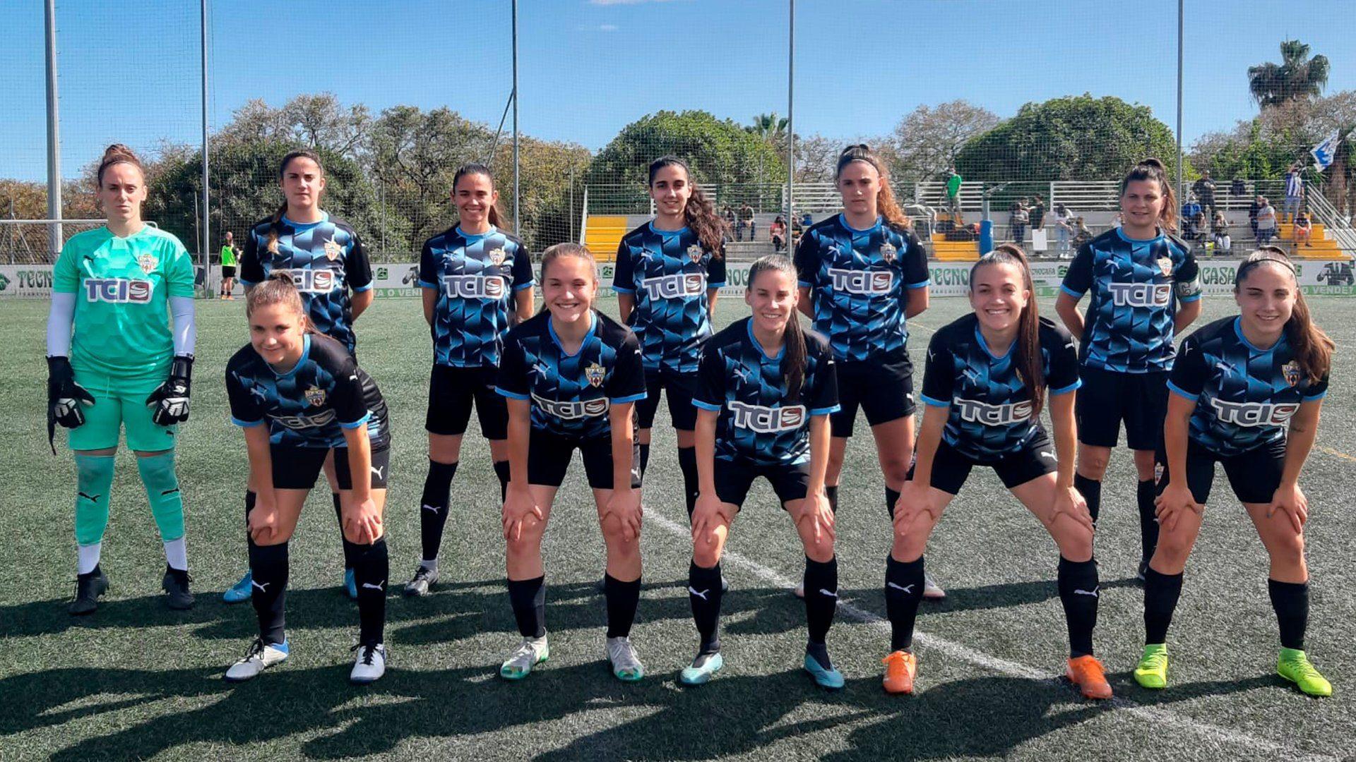 Málaga CF B vs UDA femenina