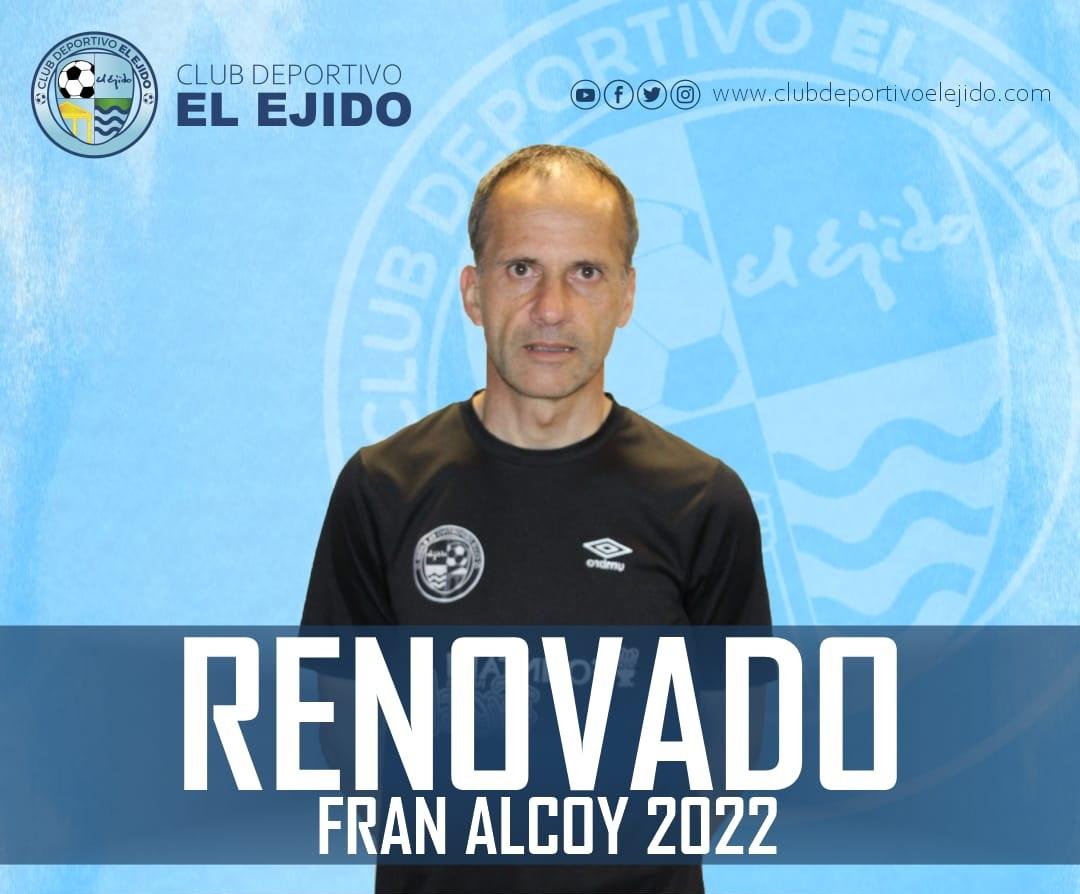 CD El Ejido 2012 renovación Fran Alcoy