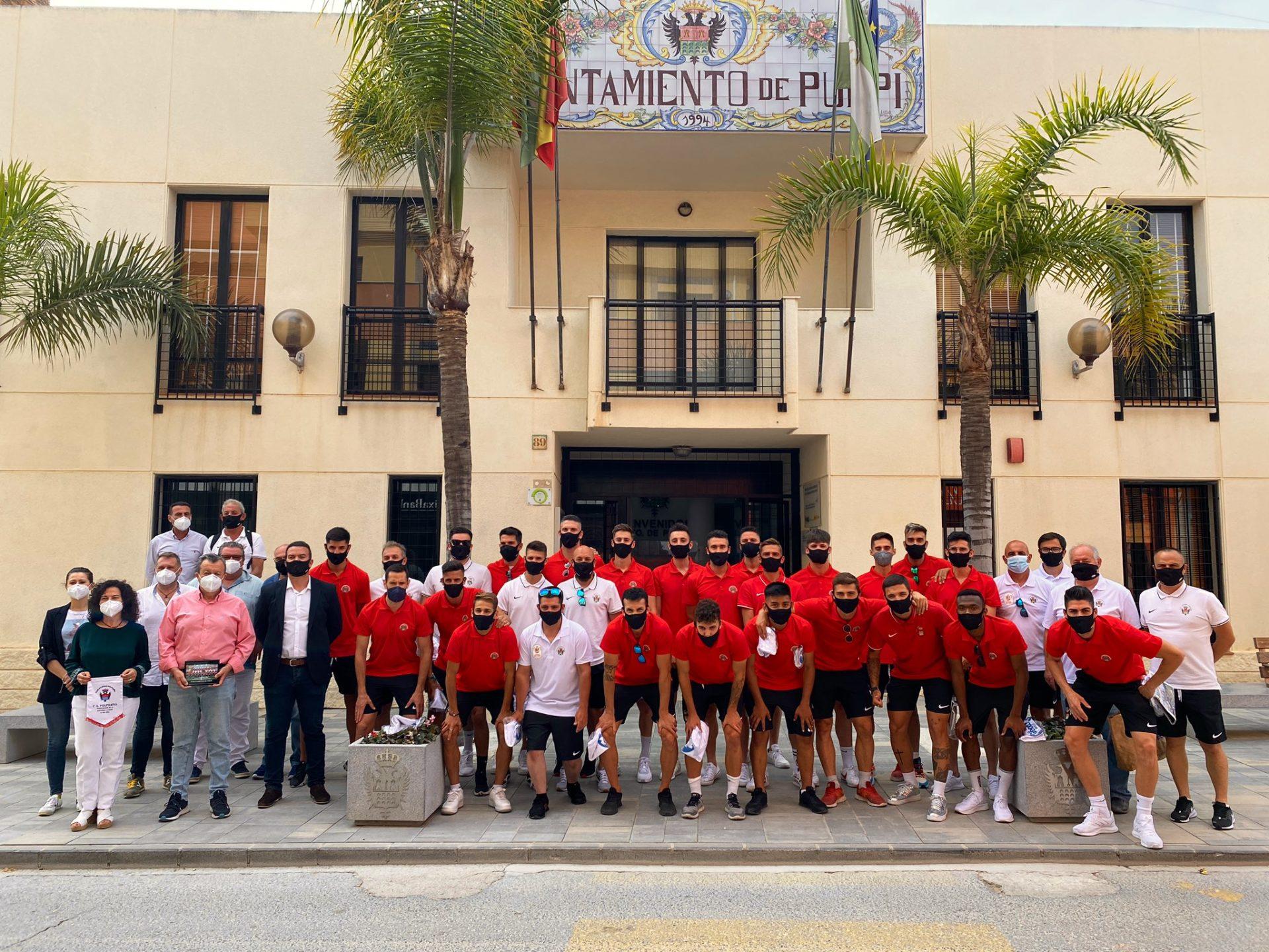 Atlético Pulpileño recibimiento Ayuntamiento de Pulpí