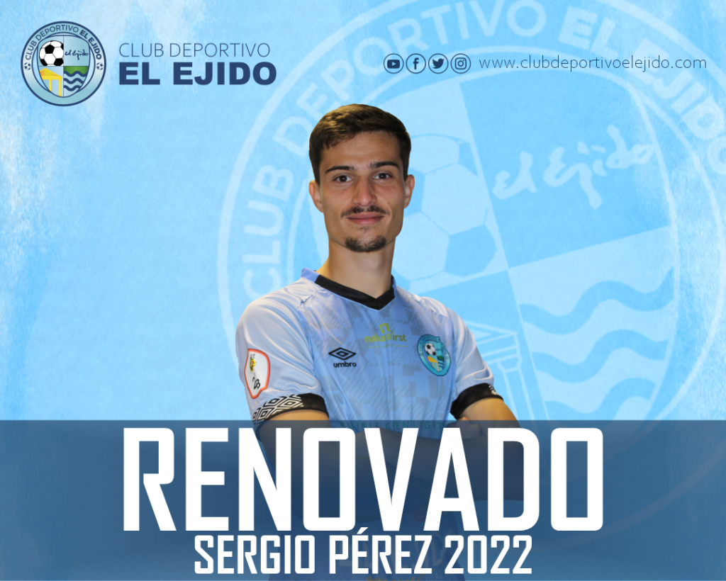 CD El Ejido 2012 renovación Sergio Pérez