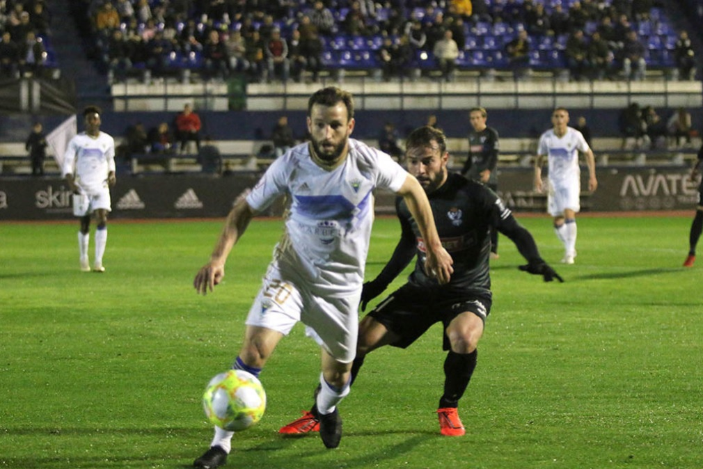 Marbella FC Óscar García 1