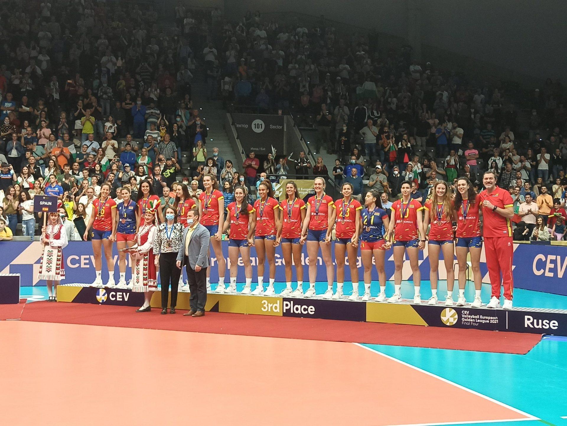 Selección Española Femenina European Golden League voleibol