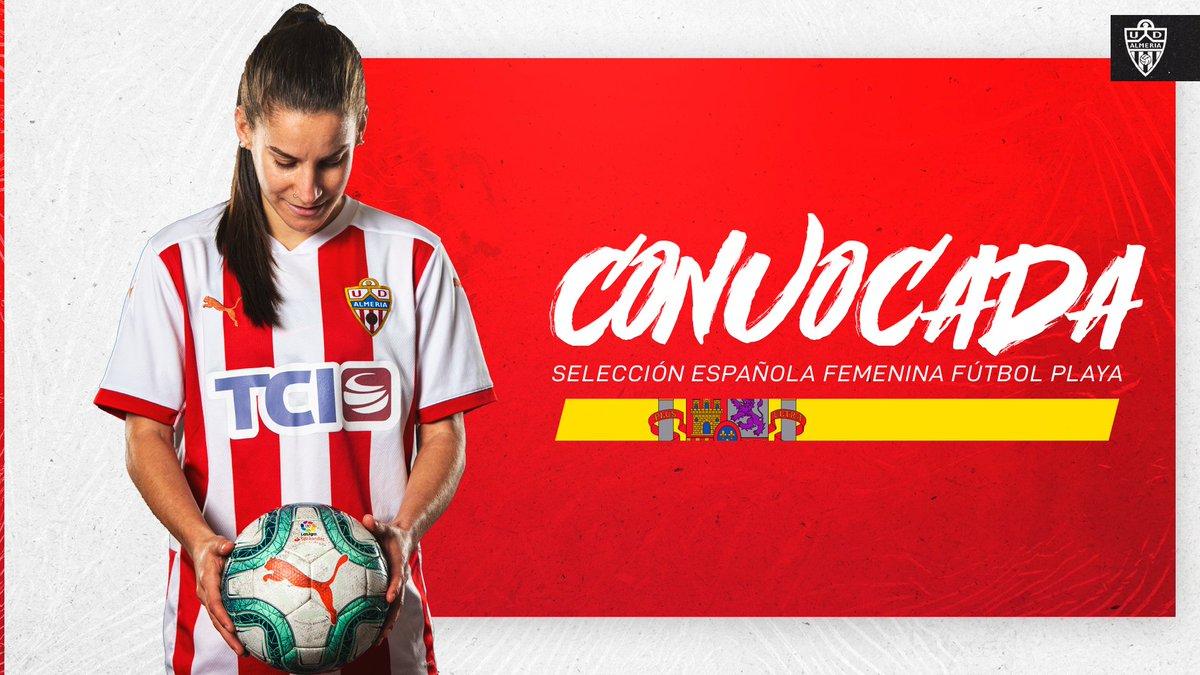 Selección Española fútbol playa Jessi