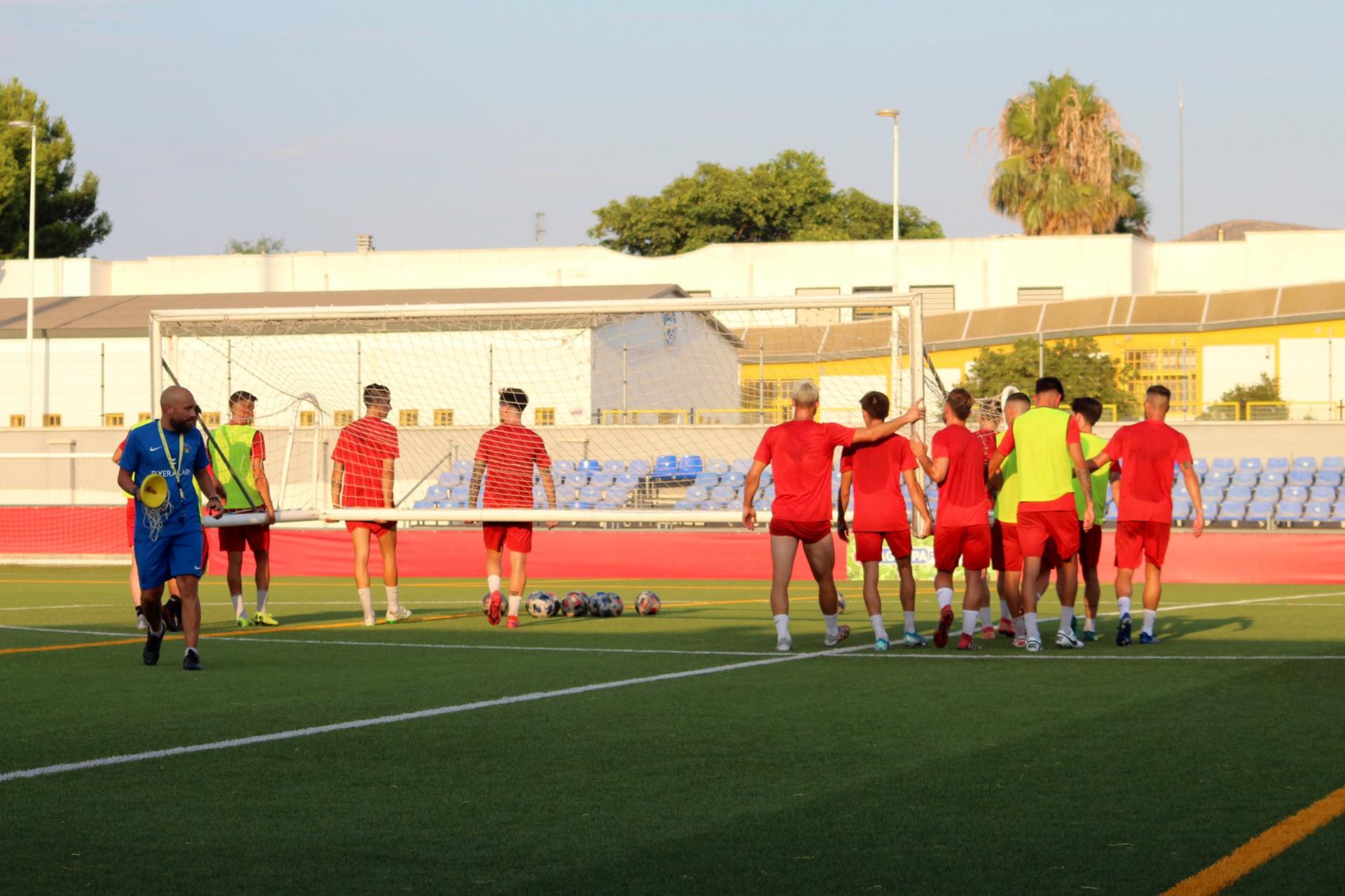 Atlético Pulpileño entrenamiento 20-07-21