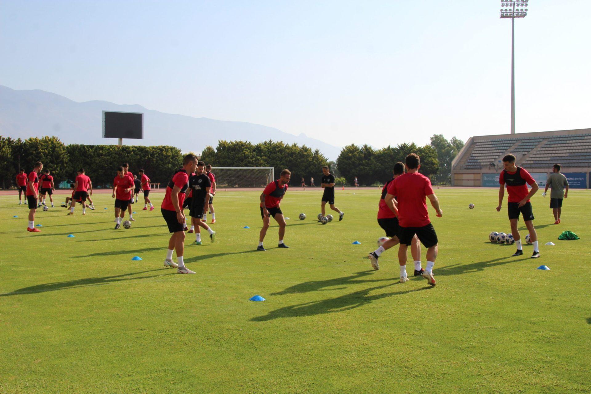 CD El Ejido 2012 entrenamiento 21-07-21
