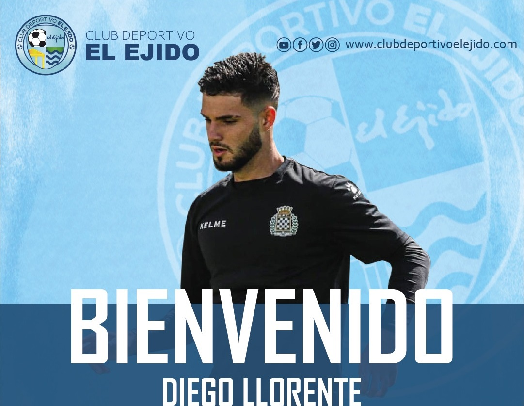 CD El Ejido fichaje Diego Llorente