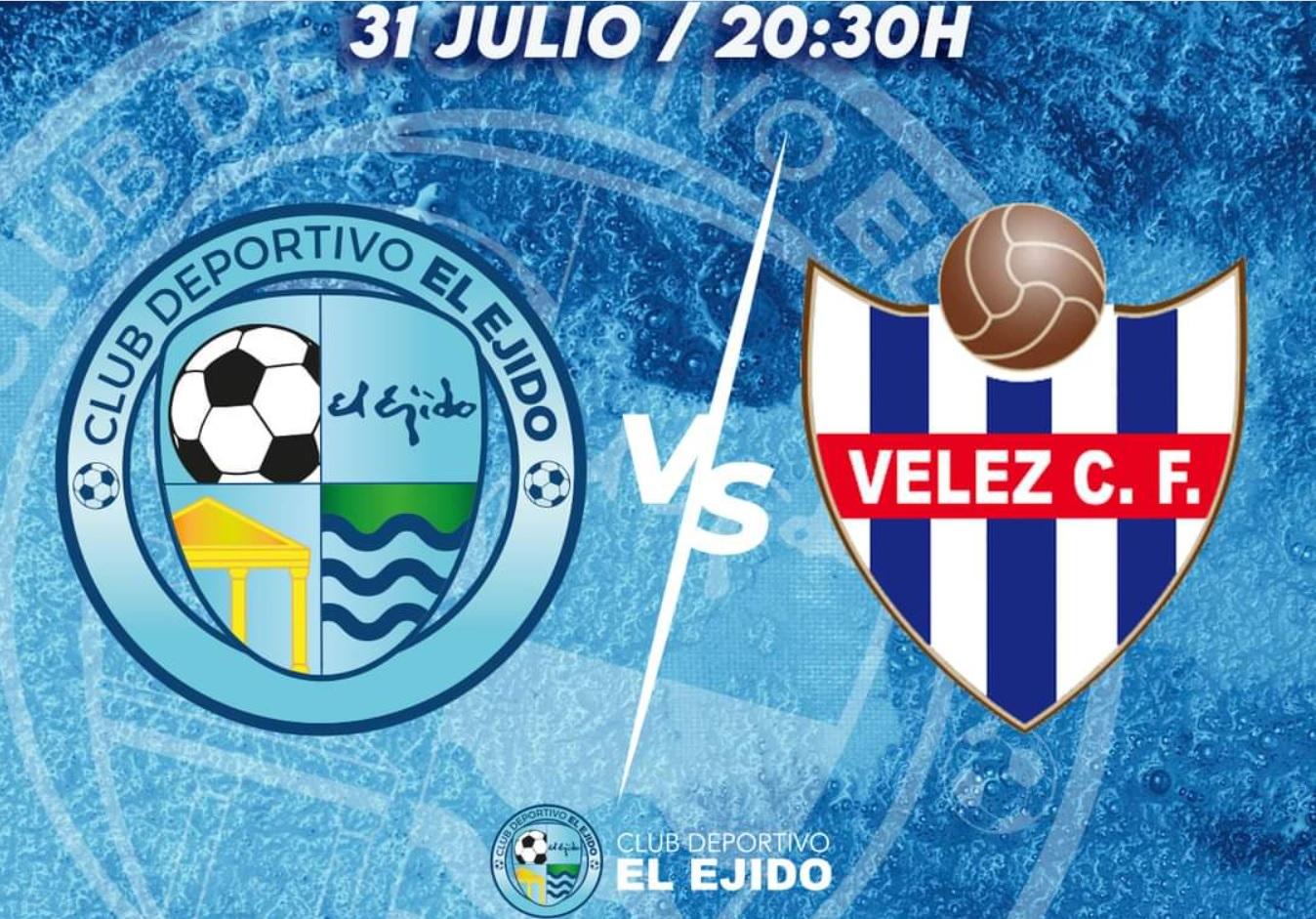 Cartel CD El Ejido 2012 vs Vélez CF