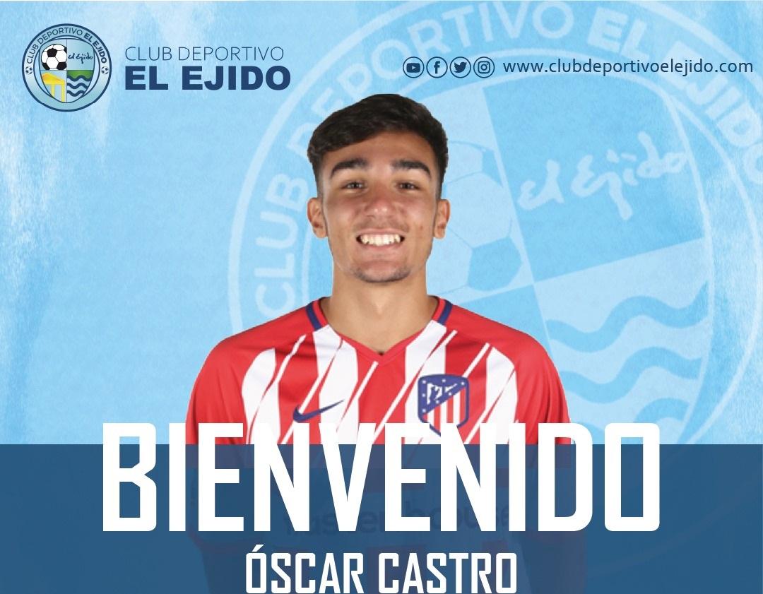 CD El Ejido 2012 fichaje Óscar Castro