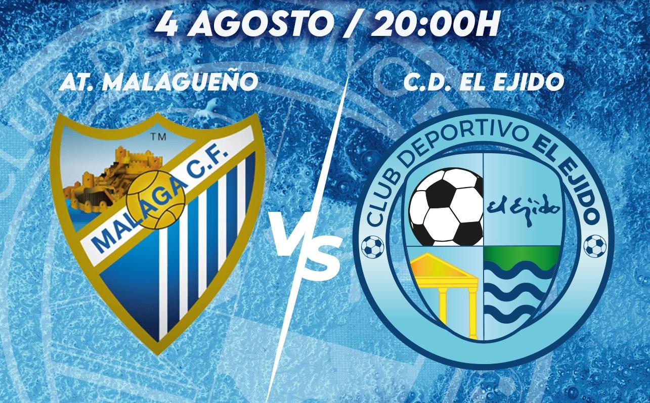 Cartel Atlético Malagueño vs CD El Ejido 2012
