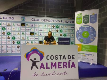 El Club Deportivo El Ejido a demostrar ante el líder que solo le vale ganar